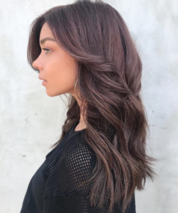 Stone Fox Hair Salon Vancouver - Cinnamon Chocolate hair colour