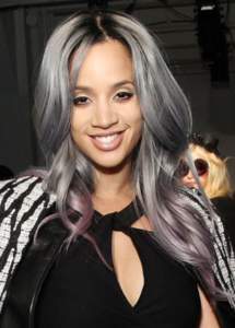 Stone Fox Hair Salon Vancouver - Slate grey hair colour