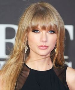 should i get bangs? taylor swift bangs. stone fox hair salon mount pleasant vancouver
